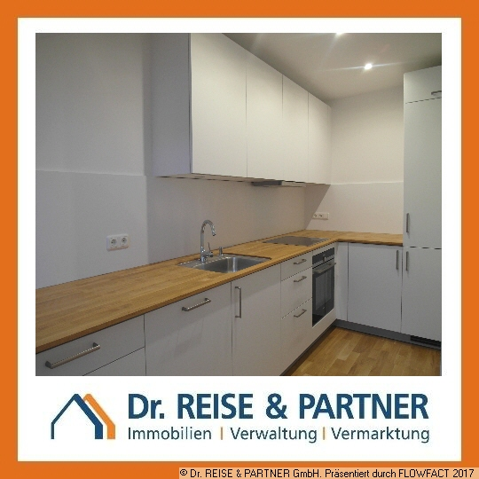 2-Raum-Wohnung im DG mit hochwertiger EBK